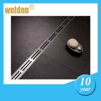 China Waterproof linear shower floor drains with Polished , metal shower drain on sale