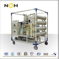 Buy cheap Insulating Oil Purifying Machine , Physical Chemical Methods Oil Treatment Machine from wholesalers