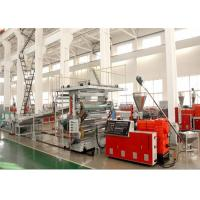 Buy cheap PVC Limitation Marble Decorative Plastic Sheet Extrusion Line , Plastic Sheet Making Machine from wholesalers
