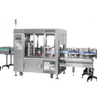 Buy cheap Linear Type Round And Square Bottle Labeling Machine , Sticker Applicator Machine from wholesalers