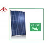 Buy cheap Tempered Glass Polycrystalline Solar Panel Easy Maintenance High Transparent from wholesalers