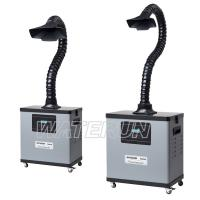 Buy cheap Digital One Tube Fume Extraction Equipment 4 Wheels Mobile Type from wholesalers