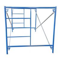 Buy cheap 5ft*5ft mason frame scaffolding blue powder coated from wholesalers
