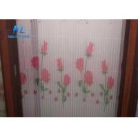 Buy cheap Grey Color Plisse Insect Screen With Good Air Ventilation Rust / Fire Resistant from wholesalers