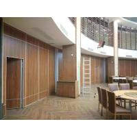 Buy cheap Mobile Acoustic Meeting Room Partitions With Aluminum Hanging Suspension System from wholesalers