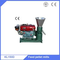 Buy cheap KL150 wheat straw feed pellet making machine with Diesel motor from wholesalers