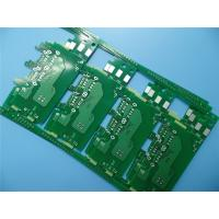 Buy cheap Immersion Silver PCB On 1.0mm Epoxy Glass ITEQ FR-4 2 Layer Circuit Board for USB Charger from wholesalers