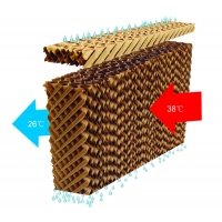 Buy cheap Auto Broiler Layer Pig Cooling Pads For Poultry Houses from wholesalers