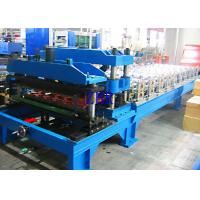 Buy cheap Automatic 1100 Metal Roof Tile Roll Forming Machine 12Mpa 20 Stations Roller product