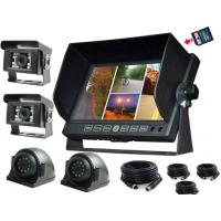 Buy cheap 7 inch LCD security Car Rear View Monitor DVR with 32G SD Card for Van from wholesalers