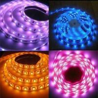 Buy cheap Colorful Flexible LED Strip Lights with 30,000-hour Lifespan, 1-year Warranty and CE/RoHS Marks product