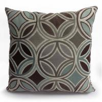 "Buy cheap 20"" x 20"" Square Motion Jute Reversible Throw Pillows In Grays And Coffee Finishing from wholesalers"