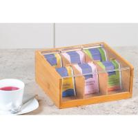 Buy cheap OEM bamboo wooden tea storage box chest box with clear acrylic lid from wholesalers