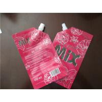 Buy cheap Reusable Stand Up Pouch With Spout , Detergent Packaging Spout Pouch from wholesalers