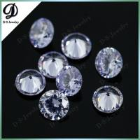 Buy cheap perfect cutting colored lavender cubic zircon gem stone from wholesalers