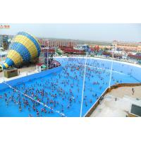 Buy cheap PLC Control Outdoor Big Water Amusement Park Wave Pool Equipment Blower Type from wholesalers
