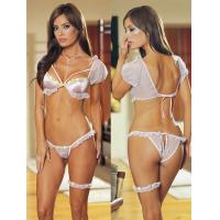 Buy cheap OEM String Sheer Satin Personalised Bridal Underwear and Bra from wholesalers