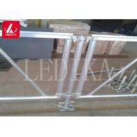 Buy cheap Aluminium Frame Plywood Assembly Stage Roof Truss Customizable Anti-slip from wholesalers