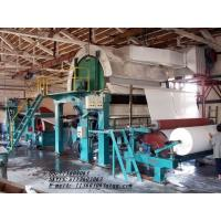 Buy cheap 1760mm Single Cylinder and Single Wire toilet Tissue Paper Making Machine from wholesalers