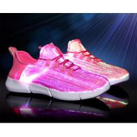 Buy cheap Endurable Light Up Running Shoes , Waterproof Led Walk Shoes High Folding Endurance from wholesalers