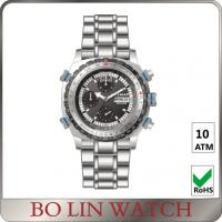 Buy cheap Tactical Survival All Stainless Steel Military Watches VK64 Movement from wholesalers