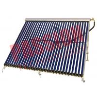 Buy cheap Wall Mounted Heat Pipe Vacuum Tube Solar Collector Aluminum Alloy Material from wholesalers