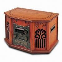 Buy cheap Nostalgic Wooden Music Center with 42W Power Consumption and Remote Control Function from wholesalers