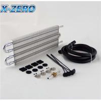 Buy cheap 4 Row Remote Radiator Transmission Oil Cooler Kit Converter Kit Universal Type from wholesalers
