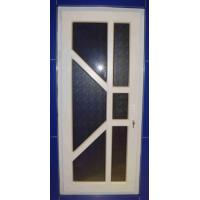 Buy cheap interior PVC Windows And Doors / casement PVC extrusion door single-glazed White from wholesalers
