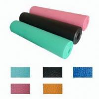 Buy cheap Skidproof PVC Leather Yoga Mat from wholesalers