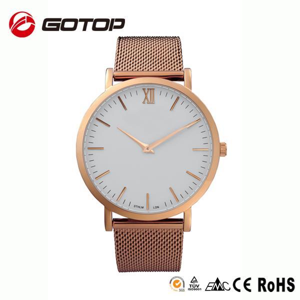 china supplier customized logo man watch wrist watch