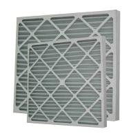 Buy cheap High Capacity Pleated Panel Air Filters Portable Air Purifiers Filters For Home from wholesalers