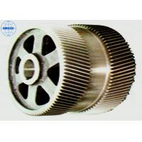 Buy cheap Machined Industrial Stainless Steel / Brass Double Helical Gear High Precision from wholesalers