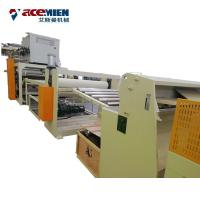 Buy cheap Extruder SPC Flooring Machine Plastic Floor Sheet Conical Twin Screw Durable from wholesalers