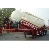 Buy cheap cement silo trailer from china semi trailer manufacturer from wholesalers
