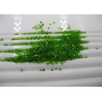 Buy cheap Round Chrome Diopside Gemstones Untreated For Peridot Bracelets Jewelry from wholesalers