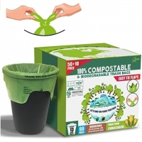 Buy cheap Biodegradable Bin Line, Biodegradable Plastic Bags, eco friendly bags, Waste disposal bags from wholesalers