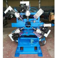 Buy cheap Parking lot  Light Pole Machine  , Double Hole Drilling machine for 40 ~ 120mm pipe from wholesalers