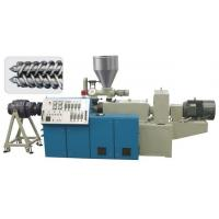 Buy cheap Plastic Single Screw Extruder 150 - 1500KG / H Speed For PE Sewage Pipe product