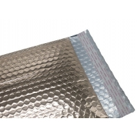 """Buy cheap Offset Printing 6X10"""" Metallic Bubble Mailers For Cosmetics product"""