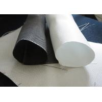 Buy cheap White PTFE Coated Alkali / Non-Alkali Filter Fabric Roll 330 - 900gsm woven roving plain cloth from wholesalers
