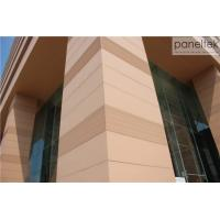 China CE ISO Building Facade Terracotta Panels External Wall Cladding Material on sale