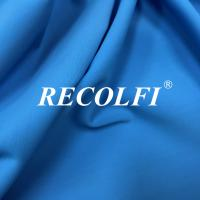 Buy cheap Woven Stretch Twill Elastic Repreve Recycled Polyester Fibers With Soft Skin Feeling from wholesalers