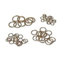 China BAg-5 Copper Brazing Rod and Ring Brazing alloys Flat Square or sliver Aluminum copper and Welding Rods Ring on sale