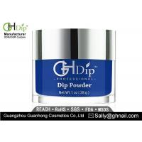 Buy cheap 66-Natural Nail Blue Colored Acrylic Powder Dip Manicure 2 Oz Water Resistant from wholesalers