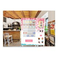 Buy cheap 24 Hours Huge Variety Cupcake Mini Mart Vending Machine With Elevator And Refrigerator from wholesalers