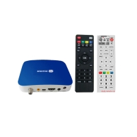 Buy cheap Simple TV Set Top Box Full 1080P H.264 FTA Free To Air Set Top Box 47 - 862MHz Frequency from wholesalers