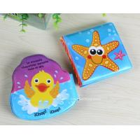Buy cheap Marine Life Reading Soft EVA Infant Bath Book Early Learning Bath Book Toys from wholesalers