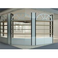 Buy cheap Nordic Design Cosmetic Display Cabinet And Showcase For Luxury Skin Care Shop from wholesalers
