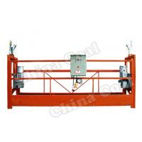 Buy cheap ZLP630 Mast climbing work platform/ hanging platform/wire rope suspended platform from wholesalers